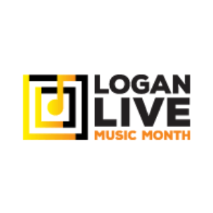 Logan Live Music Month Logo