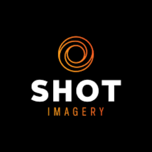 Shot imagery logo black