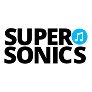 Supersonics Piano Logo