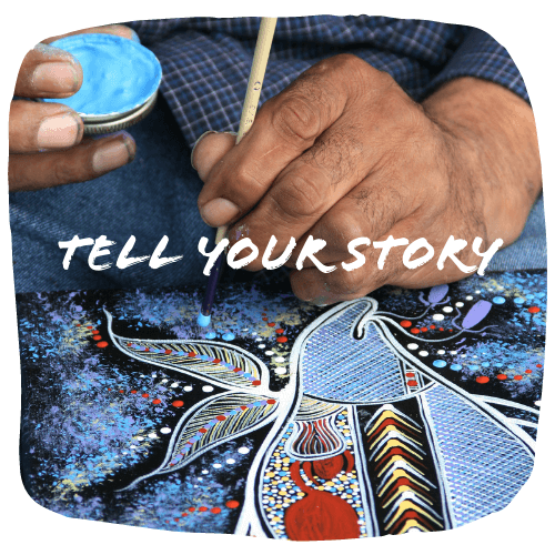 More than just a visual description of the work - tell your story
