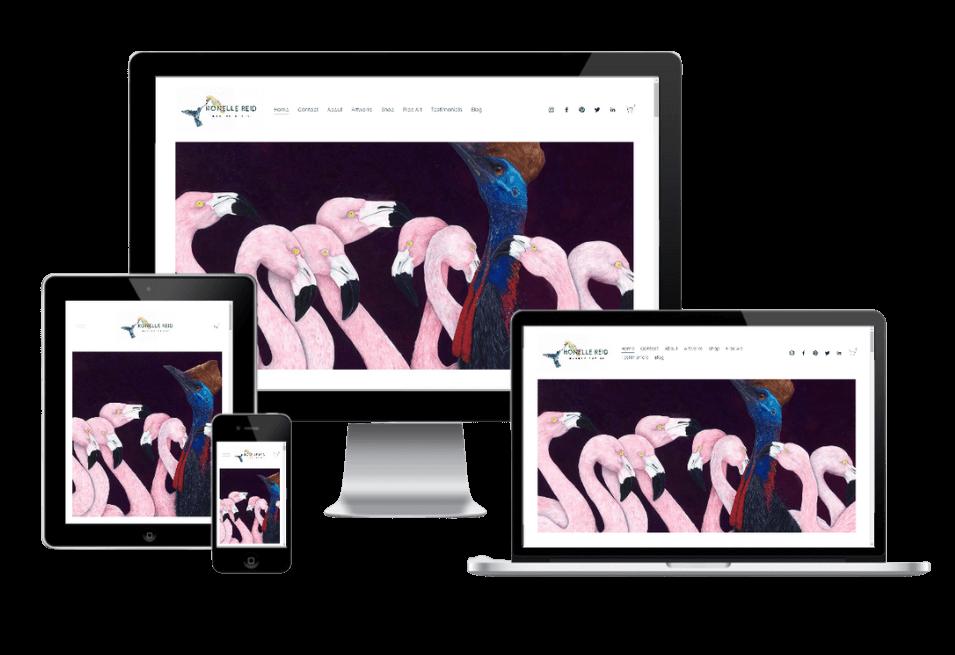 Ronelle Reid new website