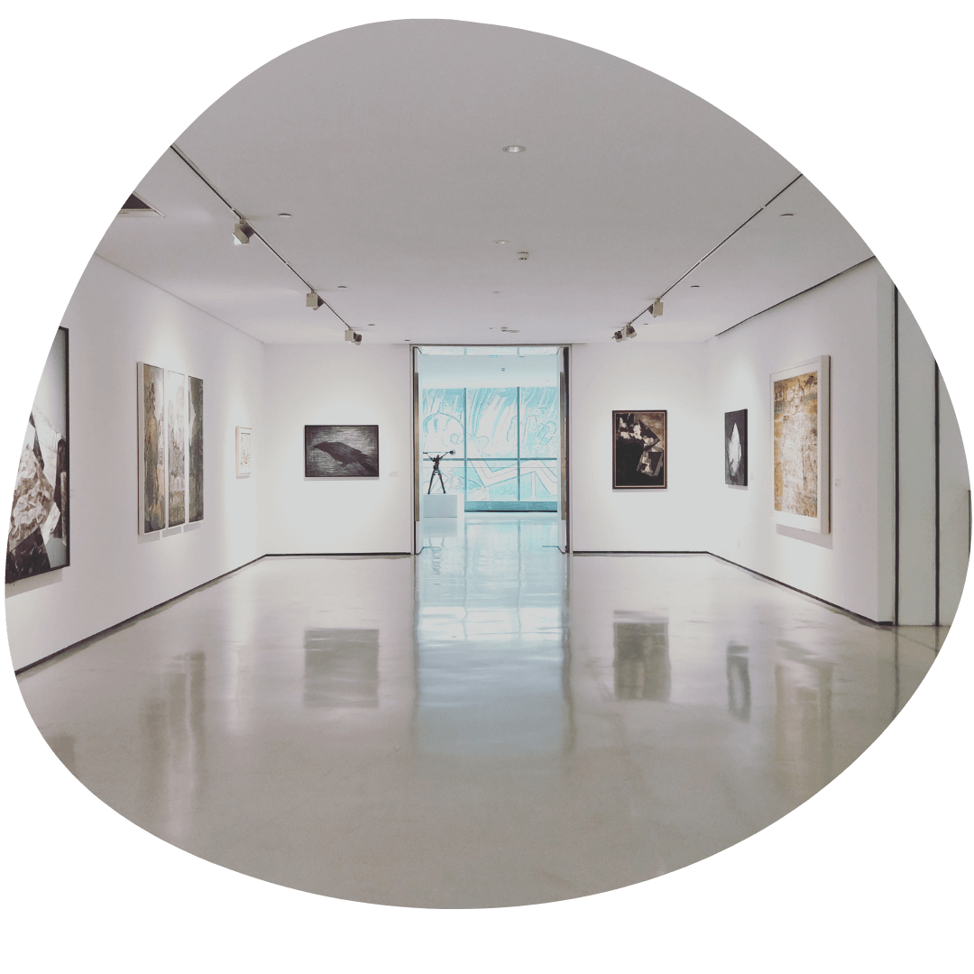 Fine art galleries & studios